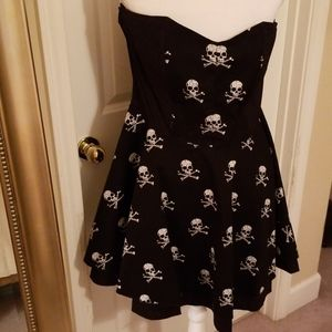 Rock steady skull dress